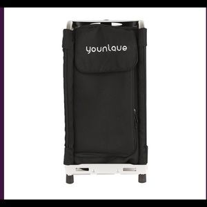 Younique Rolling Makeup Kit (Silver Hard Case)